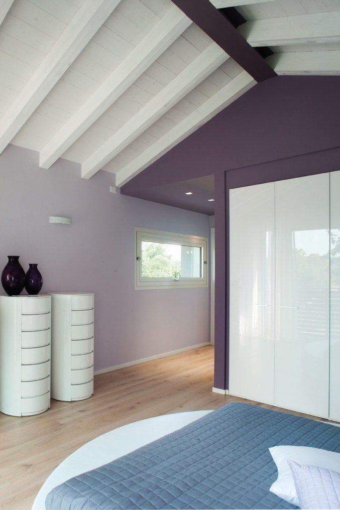 Chambre moderne avec poutres apparentes - Le Blog-Porte ...
