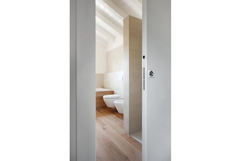 Porte ancienne coulissante 20170630033005 - Salle de bain porte coulissante ...