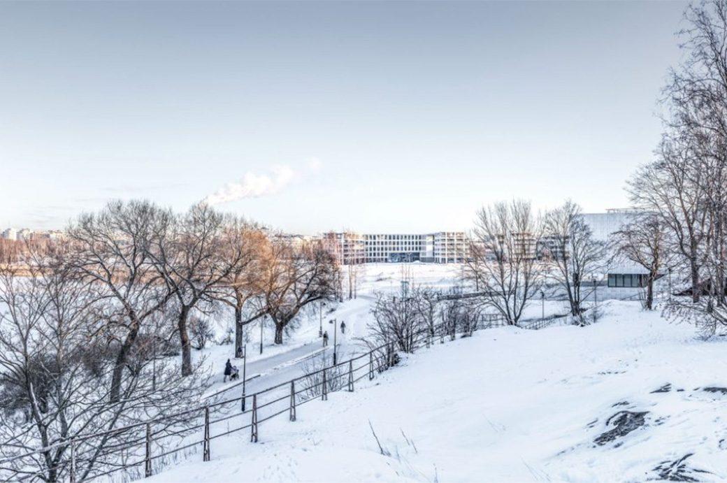 La zone Töölo, proche d'Helsinki