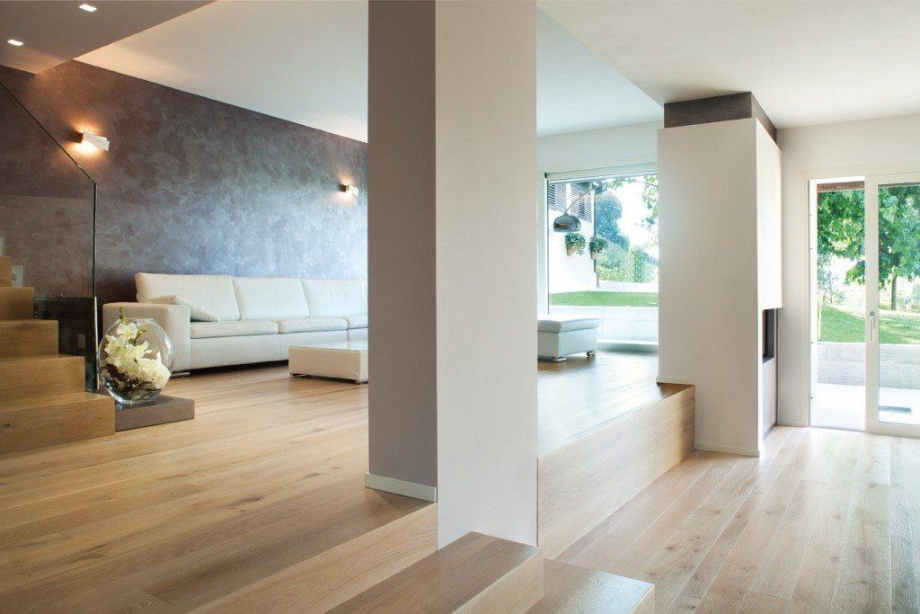 Aménagement intérieur moderne du salon