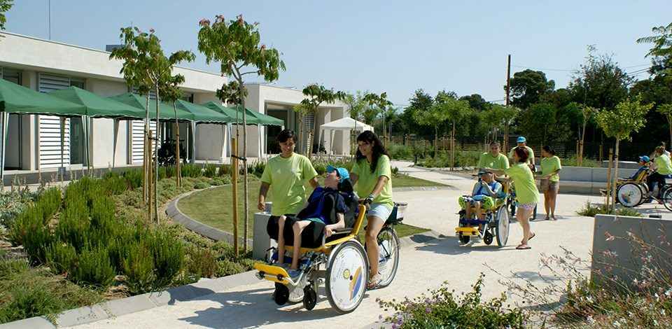 Un centre construit autour du bien-être des handicapés