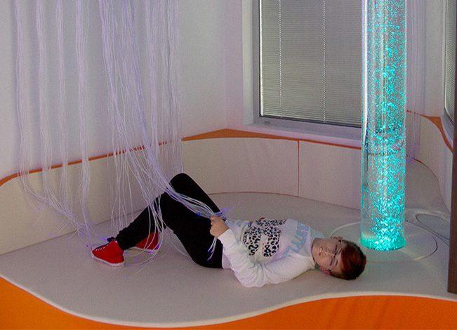 La salle sensorielle