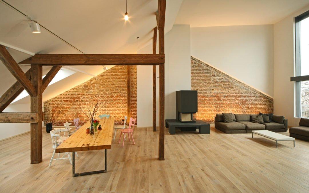 Transformer une vieille maison en un loft