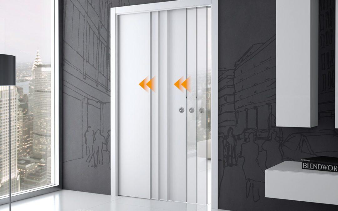 5 accessoires pour optimiser votre porte coulissante